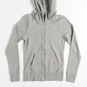 Pact Organic Cotton Zipper Hoodie Size Large